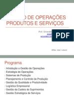 Gestão de Operações_1 e 2 introdução
