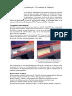 Introduccion a los Ayuda proceso para Extrusión de termoplásticos