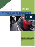 Programa de Abastecimiento de Agua (Autoguardado)