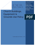 Building Use Policy & Resource Request Form