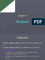 Ch 5 BB Analyze
