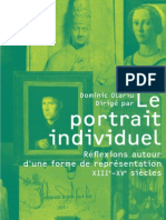 Dominic Olariu 2009- Le Portrait Individuel