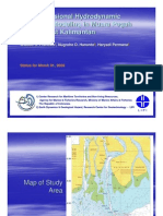 Two-dimensional hydrodynamic numerical modeling in Muara Pegah Waters, East Kalimantan