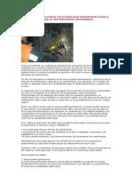 CRITERIOS DE SELECCIÓN DE LOS ELEMENTOS DE SOSTENIMIENTO PARA EL CONTROL DE INESTABILIDADES SUBTERRÁNEAS