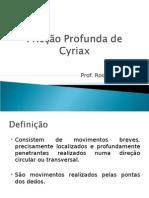 Fricção Profunda de Cyriax