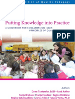 1.- A Guidebook for Educators on ISSA Principles of Quality Pedagogy