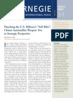 Punching the U.S. Military's