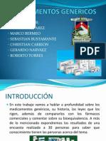 MEDICAMENTOS GENERICOS.pptx