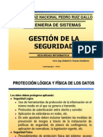 Clase 03 2011-i - Introduccion a La Gestion de La Seguridad