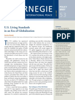 U.S. Living Standards in an Era of Globalization