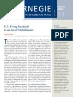 U.S. Living Standards in an Era of Globalization