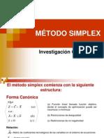 6. MÉTODO SIMPLEX (1)
