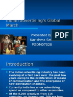 Indian Advertising's Global March