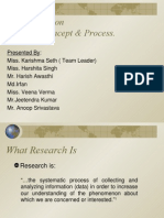 Research Concept and Process