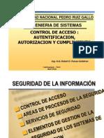 Clase 06 2011-I- Control de Accesos