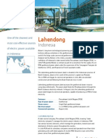 Lahendong Indonesia Geothermal Power Plant