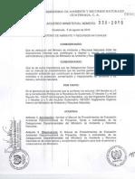 Manual de Procedimientos de Evaluacion Ambiental Desconcetrada de Proyectos, Obras y Actividades