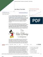 Dow Spotlight Stock of the Week_ the Walt Disney Company (DIS) - Insider Monkey