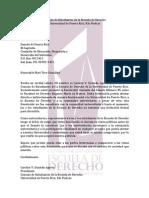 Carta a Senadora Mari Tere González