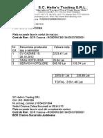 Factura Proforma Cooper Standard
