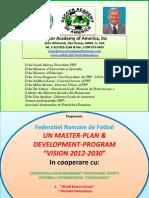 F.R.F. Master-Plan - Development - Program for 2012-2030