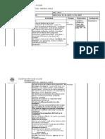 planificación clase a clase de Lenguaje-2