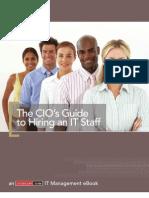 eBook the CIO Guide to Hiring Staff