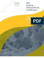 2013 Guide to NB Certification FINAL