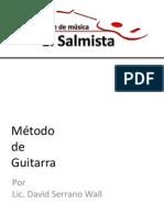 Métodode Guitarra (Circulos y escala Mayor)