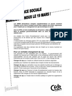 N°29 - Annexe - Tract Manifestation Intersyndicale Du 19 Mars b