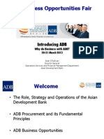 1 Introducing ADB by S. O'Sullivan Final for 20 March 2013