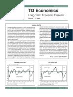 Long Term Mar09Long-Term Economic Forecast