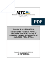 Directiva ductos  - RM333