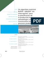 tesis planificacion algoritmo