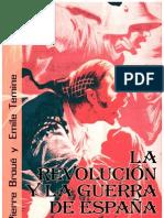 La revolución y la guerra de Espana