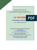 Georges Dumas 1946 Le Sourire Psychologie Et Physiologie