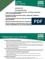 Interview Skills Tutorial