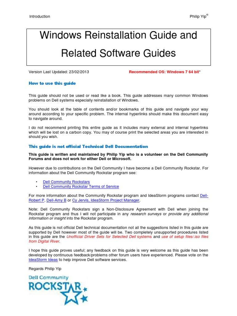 download dell windows 7 64 bit reinstallation sp2 oem .iso