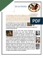 Historia de La Microbiologia Atte Luz