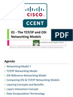 01 - The TCPIP and OSI Networking Models