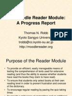 Moodle Reader