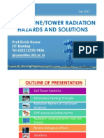 Cell Tower Radiation Report by Prof. Girish Kumar - Dec 2012