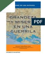Grandeza y Miseria en Una Guerrilla
