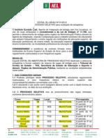 Edital Iel-nrac 012012
