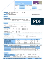 Ccb Dbp Cable Calculation Report