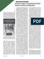 Dr. Peter Halfter, Die Bedeutung armenischer Krieger im byzantinischen Reich unter den Kaisern Justinian und Maurikios, ADK