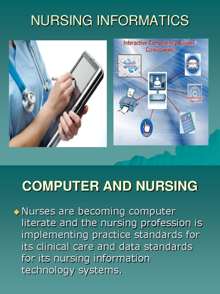 Nursing Informatics Lecture2010 | Computer Data Storage | Free Software