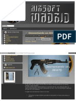 Desmontando un AK47S 1ª Parte