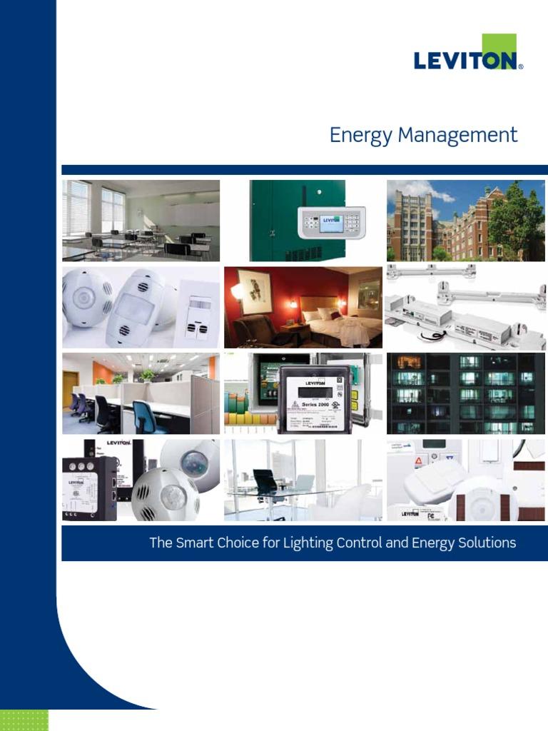 Brochure - Energy Management | Lighting | Energy Harvesting