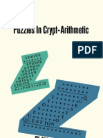 150 Puzzles in Crypt-Arithmetic by maxey brooke
